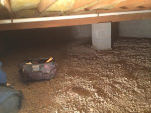 The advantages of encapsulating your crawl space